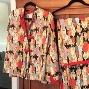 Vintage natori pajamas-lounge set